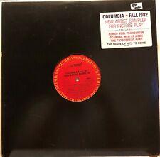 Columbia Fall 1982 Sampler LP Record Promo Scandal, Psych Furs Men at work Exc