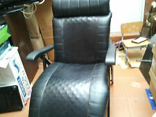 Black PU Leather Lounge Day Bed, Chaise, Sofa bed Recliner,Settee Couch Foldable