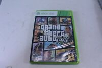 XBOX 360 Grand Theft Auto Video Game with Manual Rated M