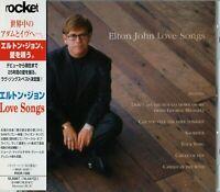 Elton John Love Songs, Japan CD Obi_ PHCR-1390