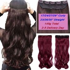 100% Real Thick Clip In Hair Extensions Full Head Hair Extentions Long Human HYT