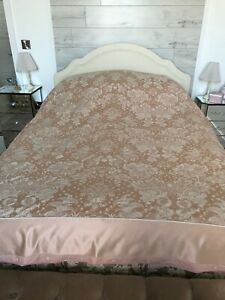 A new, super king size 'M&S apricot duvet cover.