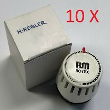 10X Heizungsregler ROTEX Heizkörper Heizung Ventil Thermostatkopf Thermostat