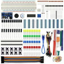 REXQualis Electronics Component Fun Kit w/Power Supply Module, Jumper Wire, 8...
