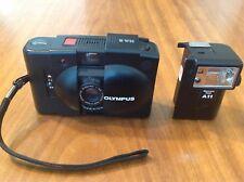 Vintage Olympus XA-2 35mm Rangefinder Clamshell Camera w A11 Flash