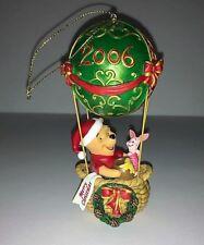 Danbury Mint First Annual Christmas Winnie The Pooh Ornament 2006 Air Balloon