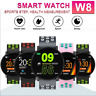 Smart Band Watch Bracelet Fitness Tracker Blood Pressure Heart Rate Monitor W8
