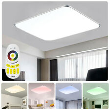 48W LED Deckenlampe RGB Farbwechsel Dimmbar Küche Deckenleuchte Fernbedienung