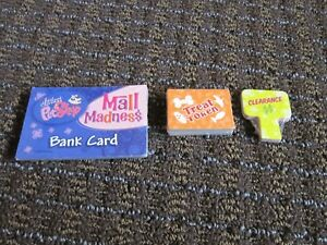 Littlest Pet Shop LPS Mall Madness Game Replacement Parts SEALED Bank/Sale/Treat