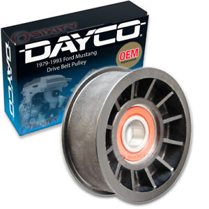 Dayco Drive Belt Tensioner Pulley for 1979-1993 Ford Mustang 4.2L 5.0L V8 np