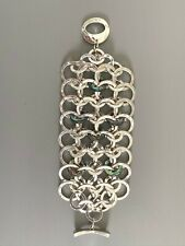 Robert Lee Morris Soho-Silver Abalone Toggle Bracelet