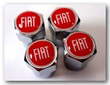 4 Stück Fiat Ventilkappen 500,500X,Panda,Punto,Freemont,Qubo,Doblo,Scudo,Ducato