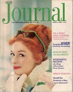 1961 Ladies Home Journal March -  Alcoholism; Jackie Kennedy grows up; divorce