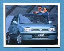 AUTO 100-400 Km - Panini -Figurina-Sticker n. 48 - NISSAN MICRA 1000 55cv -New