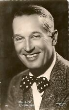 CARTE POSTALE PHOTO CELEBRITE ACTEUR MAURICE CHEVALIER