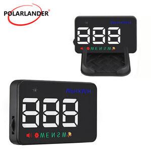 "3.5"" GPS HUD Car Head Up Display Speedometers Projector Kit A5 Overspeed Warning"