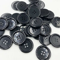 Upick 20pcs Big Plastic Overcoat Button Cloth sewing Appliques Lots 33mm PT18
