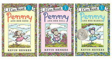 I Can Read Level 1 Penny and Her Song, Her Doll+by Kevin Henkes (3 Paperbacks)
