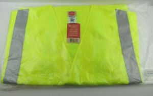 NWT Red Kap Reflecive Vest With Sleeves Hi-Vis Yellow Size 5XL Safety Vest