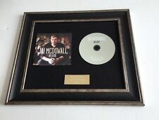 PERSONALLY SIGNED/AUTOGRAPHED JAI MCDOWALL - BELIEVE FRAMED CD PRESENTATION