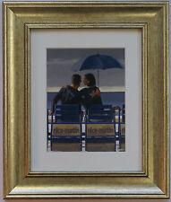 Blue Blue by Jack Vettriano incorniciato & montato Art Print PICTURE GOLD