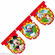 12 piedi DISNEY MICKEY MOUSE CLUBHOUSE FLAG BANNER Bunting