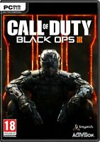 Call of Duty Black Ops III 3 PC DVD Brand New
