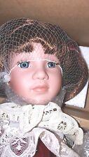 """Boyds Collection THERESA 16"""" Doll & FAITH Teddy Bear COA672/12000 RETIRED"""