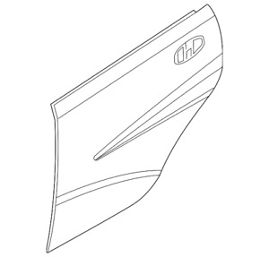 Genuine GM Outer Panel 96897407