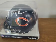 Brian Urlacher -Signed Riddell Mini Helmet -Note Other Bears - Combined Shipping