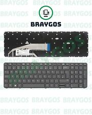 More details for for hp probook 450 g3 455 g3 450 g4 455 g4 470 g3 uk laptop keyboard with frame