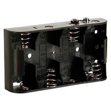 Boitier Coupleur pour 4 PIles 1,5 Volt LR14 OU C avec Contacts à Pression
