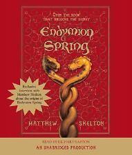 Endymion Spring : Die Macht des Geheimen Buches by Matthew Skelton (2006, CD,