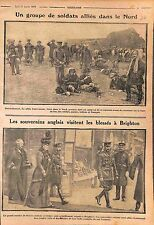 Camp British Army Bataille de la Somme/King George V Hospital Brighton WWI 1915