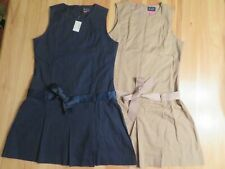 Lot Of 2 Girls Sz 16 Childrens Place Uniform Jumpers W/Bow New