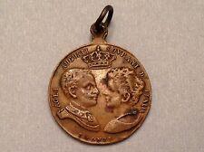 1896 1900 Italy Bronze Medal Marriage & Enthronement of Victor Emanuele III
