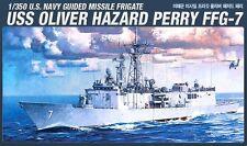 Academy 1/350 Plastic Model Kit USS Oliver HAZARD PERRY FFG-7 NIB 14102