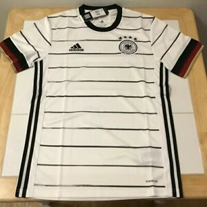 Germany adidas Home Soccer Jersey 2019/20 White EH6105 Aeroready S-M-L New