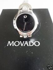 MOVADO DIAMOND SAPPHIRE CRYSTAL STAINLESS STEEL LIMITED EDITION 100% AUTHENTIC
