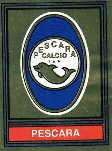 Shield Pescara Figurine Calciatori panini 1980 1981 With Tissue Attached