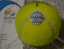 Rio 2016 Olympics GOLD MEDAL GAME MATCH USED Tennis Ball from the Mixed Doubles