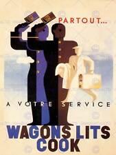 Vintage anuncio Wagon Lits Cook 1933 798082480 8 o Fine Art Print cartel CC4881