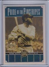 BABE RUTH 2000 Upper Deck Yankees Legends Pride of the Pinstripes #PP1 (C5130)