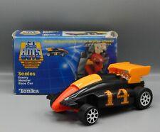 1985 vintage Tonka Gobots SCALES Formula Car RENEGADE robot nice Monster figure