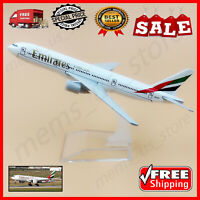Air Emirates Airlines 16cm Boeing 777 B777 DieCast Aircraft Airplane Model Plane