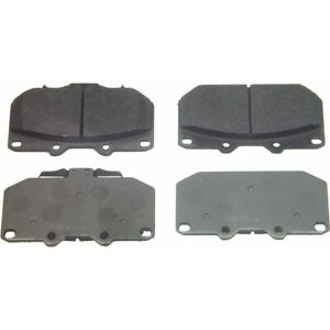 Disc Brake Pad Set-ThermoQuiet Disc Brake Pad Front fits 89-93 Nissan 300ZX