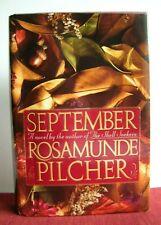 September by Rosamunde Pilcher 1st Ed.1990, Hardcover)