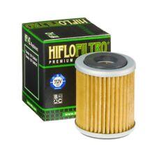 Hiflo Filtro Filtre à huile hf143 pour YAMAHA TW 125, 1999-2004, oil filtre, Noir