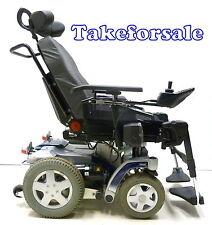 Invacare Storm 4 elektrischer Sitz  Bj 2012 Elektrorollstuhl Rollstuhl TFS201