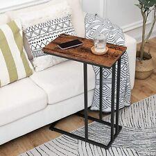 HOOBRO Beistelltisch Sofatisch Kaffeetisch mit verstellbare Füße Nachttisch